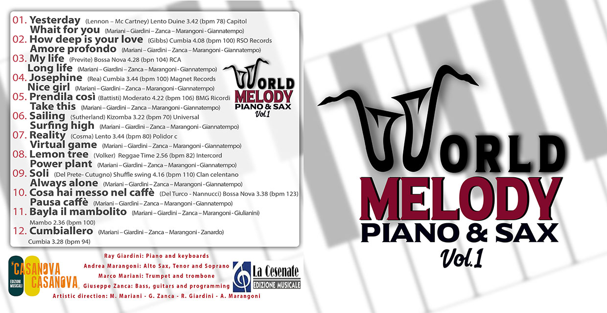 World Melody -Piano & Sax